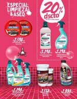 Ofertas de Supermercados Montserrat, Especial, Limpieza & Aseo
