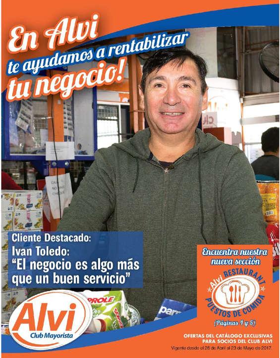 Ofertas de Alvi, Catálogo Abril-Mayo Alvi