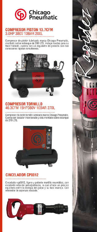 Ofertas de Feram, Chicago Pneumatic