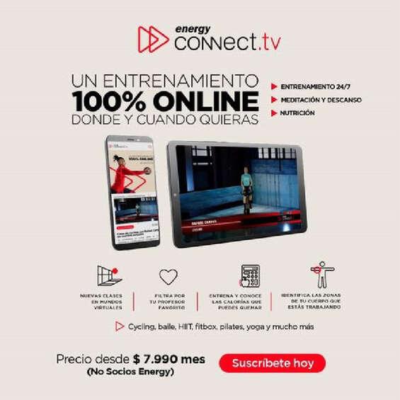 Ofertas de Energy, Entrenamiento 100% online