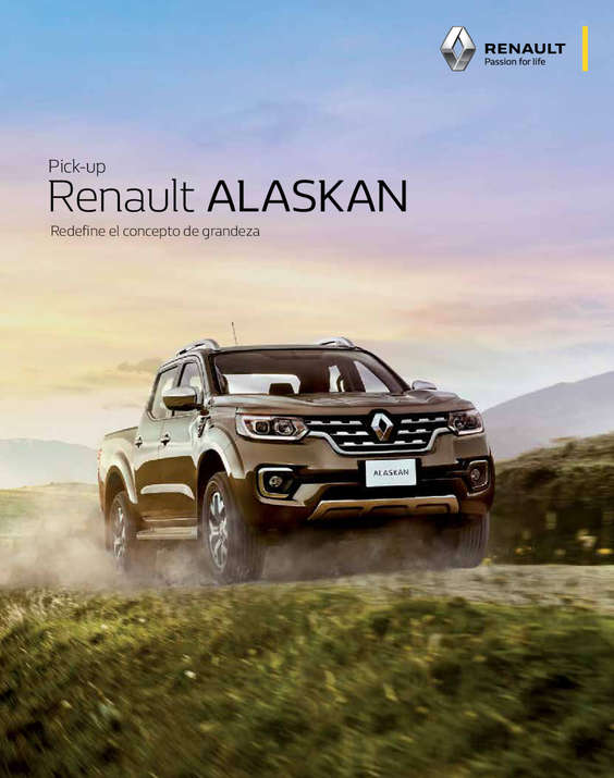 Ofertas de Renault, Pick-Up Alaskan