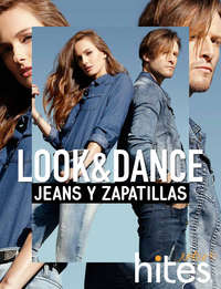 Look & Dance jeans y zapatillas