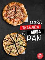 Ofertas de Pizza Pizza, Pizzas y masas