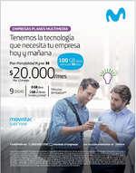 Ofertas de Movistar, planes empresas