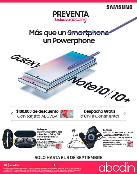 Ofertas de ABCDIN, Galaxy Note 10+