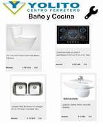 Ofertas de Ferretería Yolito, Baño y Cocina