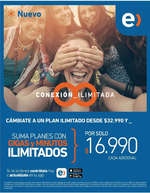 Ofertas de Entel, Cámbiate a un plan ilimitado