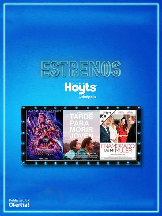 Ofertas de Cine Hoyts, Estrenos #ctdsg#