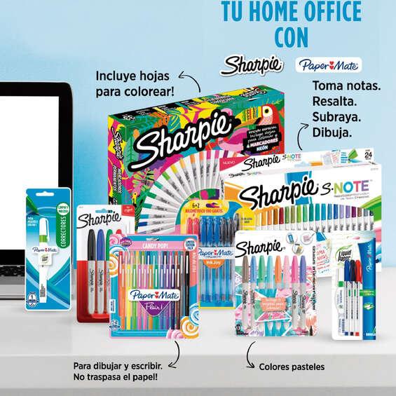 Ofertas de Librería Nacional, Tu home office con Sharpie