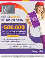 Ofertas de Banco Ripley, Tarjeta Ripley