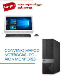 Notebooks, PCs, Monitores, AIO · BIP