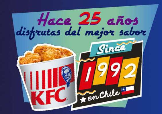 Ofertas de KFC, Hace 25 años disfrutas el mejor sabor