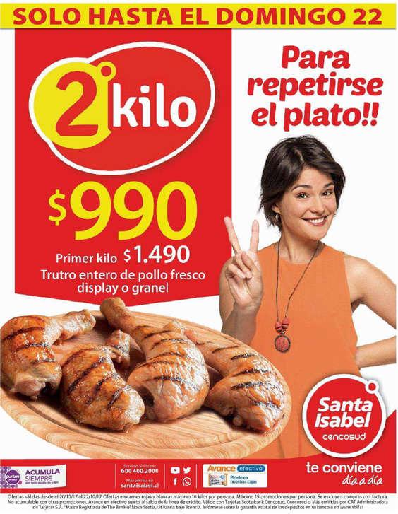 Ofertas de Santa Isabel, para repetirse el plato!!