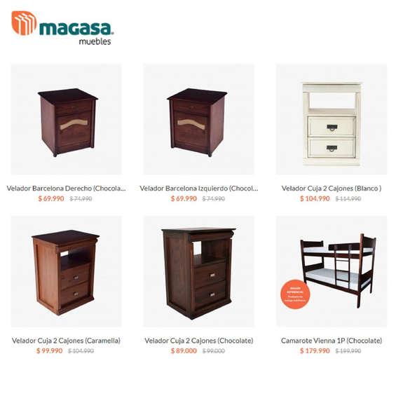 Ofertas de Magasa, Dormitorios