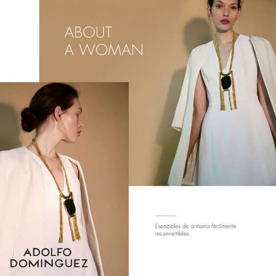 Ofertas de Adolfo Dominguez, About a woman
