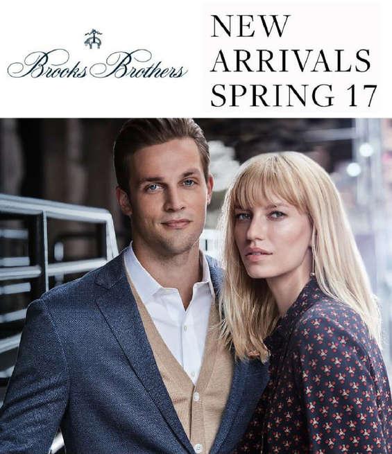 Ofertas de Brooks Brothers, New Arrivals Spring 17