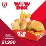 Ofertas de KFC, WOW Box