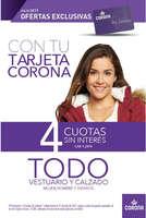 Ofertas de Corona, soluciones julio