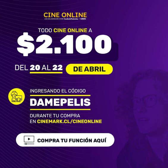 Ofertas de Cinemark, Cinemark-Online