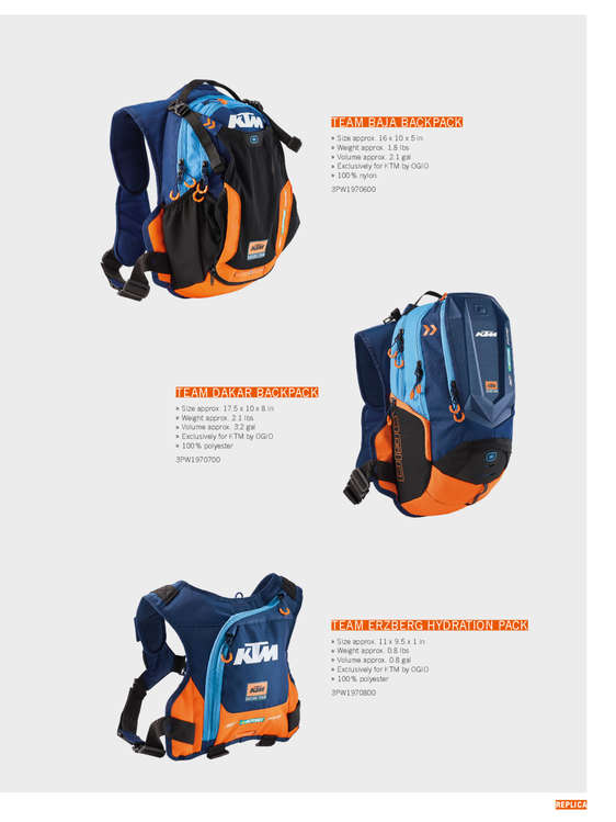 Ofertas de KTM, PowerWear Casual & Accessories 2019