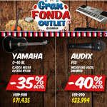 Ofertas de Yamaha Instrumentos, Gran Fonda Outlet