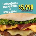 Ofertas de Schop Dog, Hamburguesa dos quesos