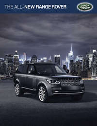 All New Rang Rover