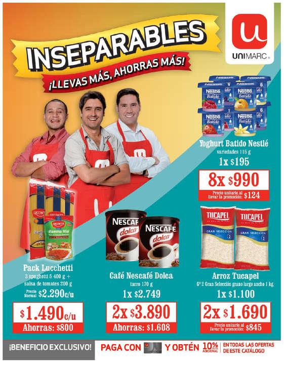 Ofertas de Unimarc, Inseparables