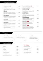 Ofertas de Sushi House, Nueva carta 2017