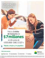 Ofertas de Banco Falabella, Crédito De Consumo