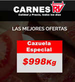Ofertas de Carnes RV, ofertas carne