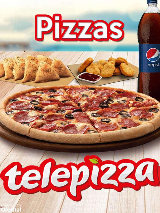 Ofertas de Telepizza, Pizzas
