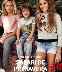 Colección Kids Safari de Primavera