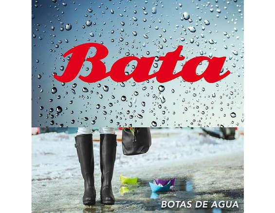 Ofertas de Bata, Época de lluvia y botas