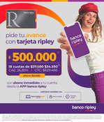 Ofertas de Banco Ripley, Avance