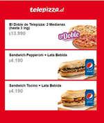 Ofertas de Telepizza, promociones internet