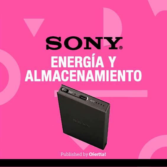 Ofertas de Sony Store, Energía Y Almacenamiento