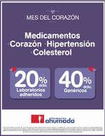 Ofertas de Farmacias Ahumada, Mes del corazón