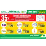 Ofertas de Cruz Verde, 35% En Bioequivalentes